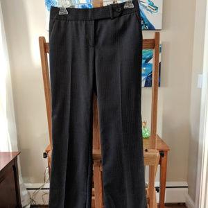 JCrew 100% wool gray pinstripe pants